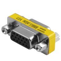 Adattatore per convertitori di genere Gender Changer 15 Pin PIN 1515 PIN HD15 femmina per VGA femmina