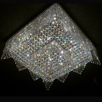 nnew luxury design large modern chandelier lighting crystal lamp led light fixtures lustre de cristal foyer chandeliers - Foyer Chandeliers