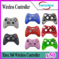 50pcs LED Xbox 360 wired Controller Joystick for xbox 360 Re...
