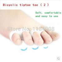 pair=4picsHot- Free Shipping Silicone Gel Foot toe Separator ...