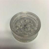 저렴한 1.7 인치 클리어 아크릴 허브 그라인더 3 부품 플라스틱 허브 그라인더 와이드 허브 그라인더 Fress 배송 세계 연기