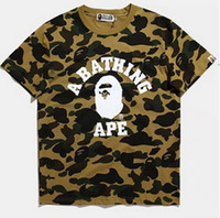 New Apes T Shirts for men and women camouflage men palace ba...