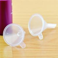 Mini mini imbuti in plastica per olio essenziale di profumo liquido Riempimento Bottiglia vuota Strumento di imballaggio Strumenti di bellezza