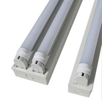 1200mm 4Ft LED T8 Support Double T8 Titulaire Aluminun Lampe Socket 0.3mm épaisseur G13 Base Pour 1.2 M T8 Tube Sans Ballast