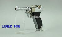 Soporte de exhibición de arma de acrílico transparente de la venta caliente 10PCS envío libre superventas