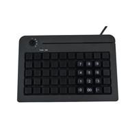 KB50 Com 50 interruptores Todas as teclas podem ser programadas com 255 caracteres 6 segmentos teclado eletrônico Teclado POS