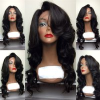 Brazilian Hair Body Wave Full lace wigs with Bleached Knots ...