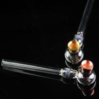 zwei Funktionen neue Glas Ölbrenner und Tabakpfeifen mit Waben Perkolator Rohr Klarglas Pfeife Brenner