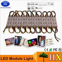 Windows-Licht-Lampe SMD 5050 wasserdichte LED-Module für Zeichen Buchstaben LED-Hintergrundbeleuchtung SMD5050 20pcs 3 führte DC12V IP65 freies Verschiffen