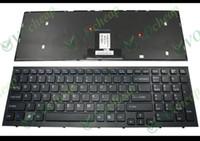 Teclado novo portátil para Sony Vaio VPC EB série VPCEB com Frame preto EUA versão - 148792821