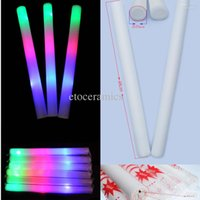 Wholesale palitos de palo de espuma LED para la fiesta de Navidad Bar KTV Flashing Stick Stick Stick Party Supplies Lots1080