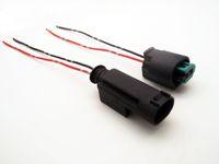 2Pin 1,0 мм Авторазъем, разъем датчика температуры воды с кабелем 10 см, разъем температуры автомобиля для BMW, Buick