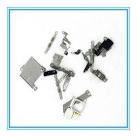 Conjunto completo Flex Cable Metal Soporte Placa Cubierta Botón de inicio Cámara Soporte de la batería Ensamblaje Para iPhone 5 5s 5c 6 6S 6P 7 7 Plus 6sp