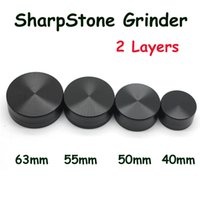 Hot Sale Aluminum Alloy Herbal Grinder 2 Layers Herb Grinder...