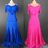 Free Shipping Custom Ballroom Competition Dance Dress Lady Dress Ballroom Standard Dance Women Viennese Waltz Dress Dancewear Dance Dress