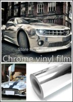 300mm x 1520mm Chrome Air Free Mirror Vinyl Wrap Film Sticke...