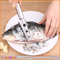Stainless Steel Fish Scale Shaver, Kitchen Gadgets Tools Scr...