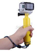 بوبر عائم يده Monopod قبضة اليد Gopro اكسسوارات GP251 لمن GoPro Hero 4s 4 3+ 3 2 1 Xiao Yi Sonny Action Camera