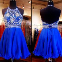 Free Shipping Glamorous Long Royal Blue Cocktail Homecoming ...