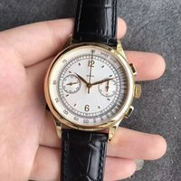 39mm manual hand winding mechanical complex chrono chronogra...