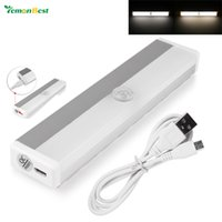 Rechargeable Magnetic Infrared IR Motion Sensor LED Wall Lig...