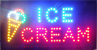 2016 New arriving customized Led Ice cream shop Signs Neon e...