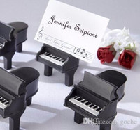 european style resin piano place card holder name holders bridal and groom wedding party table centerpiece favors