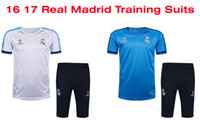 Benwon - Real Madrid football tracksuit 16 17 short sleeve s...