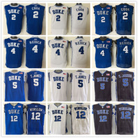 1fbab764fa8 ... greece duke blue devils stitched 5 tyus jones basketball jerseys college  men 12 justise winslow 2