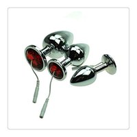 Elettrodi per adulti Estim Full Metal Acciaio inossidabile Plug anale Shock elettrico Estim Elettrodi Parti del dispositivo Accessori Butt Plug With Wire