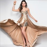 gold sequins bridesmaid dresses Bridesmaid Dress Ball Gown F...