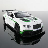 نموذج سيارة 1:32 بنتلي GT3 سبيكة دييكاست سيارة لعبة رائعة الباب المفتوح التراجع سيارات الهدايا