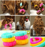 Hair Jewelry Magic Curler Bendy Hair Styling Roller Curls Pl...