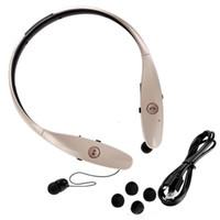 سماعات الاستريو اللاسلكية Bluetooth 4.0 Sport Headphones HBS 900 سماعات الرأس النغمة + نغمات Infinim لرقبة الآيفون Samsung LG LG