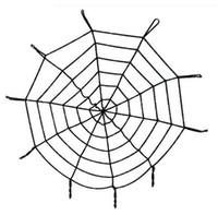 Toptan Yeni Cadılar Bayramı Dekorasyon Huge Örümcek ağı Örümcek Web Örümcek Ağı Parti Halloween için Cadılar Bayramı Hediyelik Dekorasyon Malzemeleri
