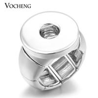Noosa Ginger Snap Smycken Resizable Ring 18mm Rope Stretch Vocheng Nn-399