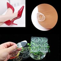 6 unids Gel de silicona Heel Cushion Protector Foot Pies Care Zapato Inserción Pads Plantilla # T701