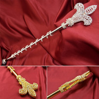 Fashion Rhinestone Scepter Double Size Miss Beauty Pageant Q...