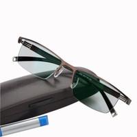 Переходная фотохромная индивидуальная прочность -rx + RX рецепт Meopia Bearsighted Настраиваемые очки для чтения астигматизм