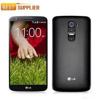 """기존 LG 전자 G2 D800 D802 휴대 전화 안드로이드 13MP 5.2 """"3G 4G LTE 풀린다 리퍼브 휴대폰"""