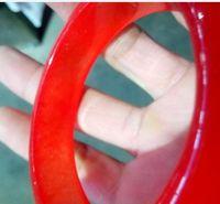 جديد خمر الصينية حقيقية الطبيعية الصف a سوار اليشم الإسورة سوار اليشم الأحمر 56 ملليمتر -60 ملليمتر
