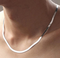 Collier en argent sterling 925 4mm 18
