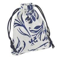 JLB шнурок ювелирные изделия сумки мешок Египет и Индия таинственный стиль красочные хлопок подарок пакет мешок 9.5x11.5 см