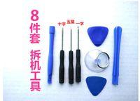 8 in 1 Tornavida Enayi Pry Onarım Açılış Tool Kit Seti iphone 4 4 s 4g 5 5c 5 s 6 6 artı 100 takım / grup