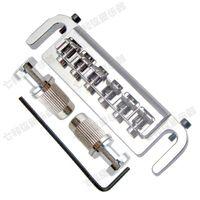 Alta qualità tre colori argento nero dorato Chitarra elettrica Ponte Chitarra Parti Accessori per strumenti musicali