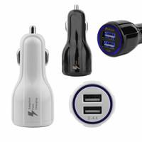 QC3.0 빠른 충전 3.1A 빠른 충전 자동차 충전기 듀얼 USB 빠른 충전 휴대 전화 충전기 아이폰 충전기 삼성 갤럭시 S8 Opp 패키지