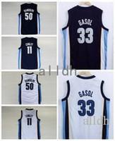 b2e7e4f917a2 ... Jersey Yellow (Youth 2017 Marc Gasol Basketball Jerseys 11 Mike Conley  50 Zach Randolph 33 Marc Gasol Navy Blue ...