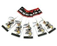 Metal Spinner Cebo Artificial 8.5g 6.5cm Aleación Lentejuelas Jigs Señuelos de Pesca Rotación Jigs Ganchos cebos bajos