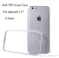 DHL Iphone 6 Case Transparent Thin Crystal Clear Soft TPU Ca...
