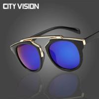 2016 gafas de moda gafas de sol ovales de alta calidad mujeres puntos gafas  de sol 96d6370d43